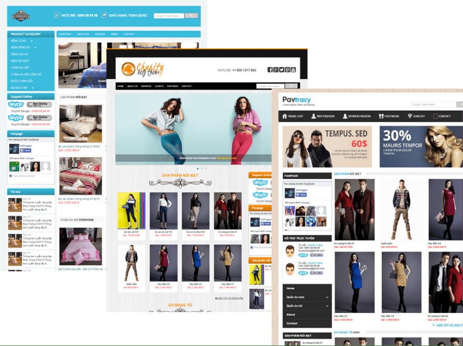 Website đóng vai trò quan trọng trong việc quyết định doanh số của công ty.