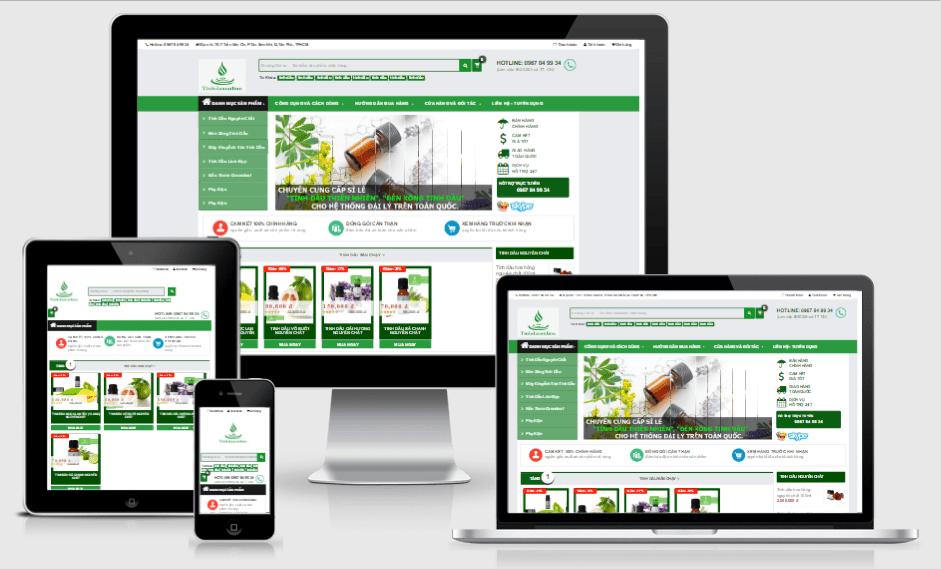 Thiết kế giao diện website tại Megaweb thân thiện với tất cả giao diện